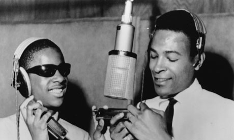 Stevie Wonder and Marvin Gaye at a Motown recording studio in Detroit in 1965. What other businesses have changed the world? Photograph: Gilles Petard/Redferns